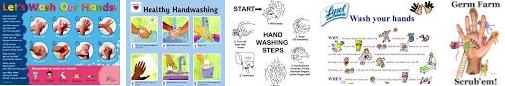 hand washing images for kids